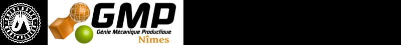 Département génie mécanique et productique Logo